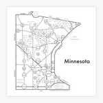 Archie's Press- Minnesota Prints