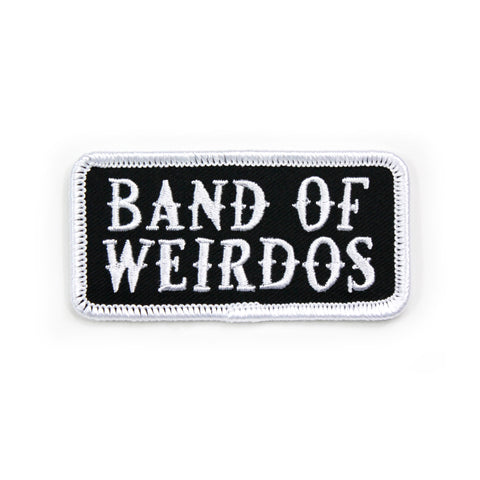 Band of Weirdos- Embroidered Patches