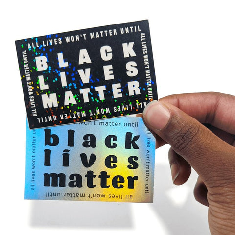 The Monarq- Black Lives Matter Stickers