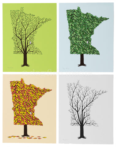 Dogfish Media- Four Seasons Prints