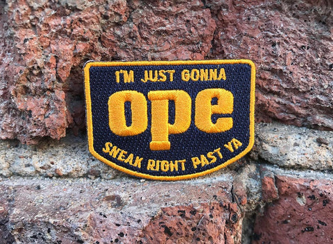 Industrial Joe- Embroidered Patches