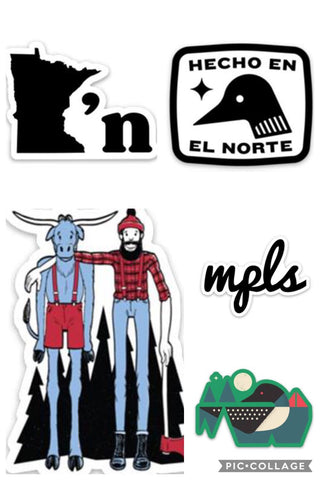 Northmade- Stickers