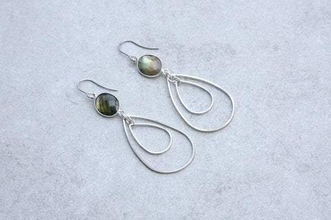 Dani Awesome- Semi Precious Stone Earrings