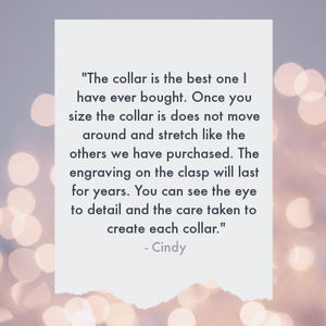 Customer review from Cindy, who says,