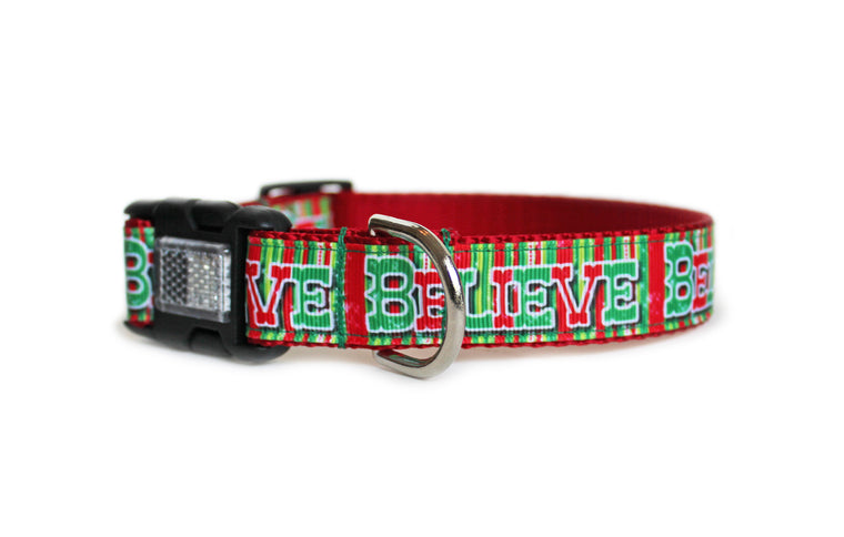 Believe Dog Collar