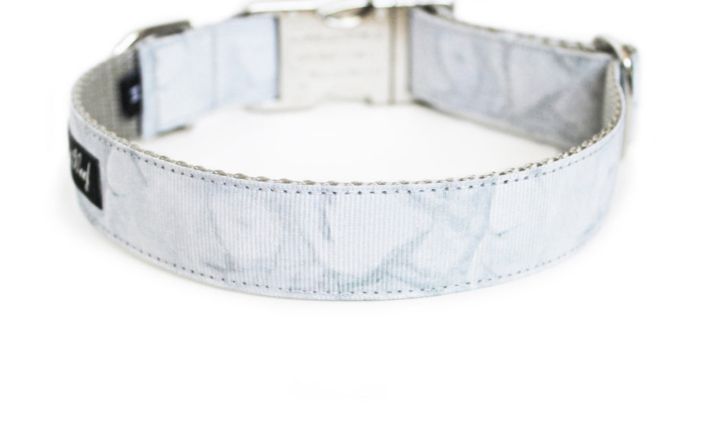Carrara Marble Dog Collar