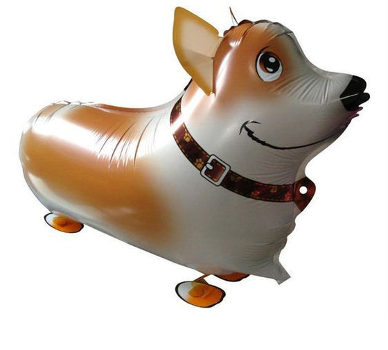 Corgi Walking Dog Balloon