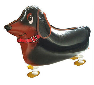 Dachshund Walking Dog Balloon