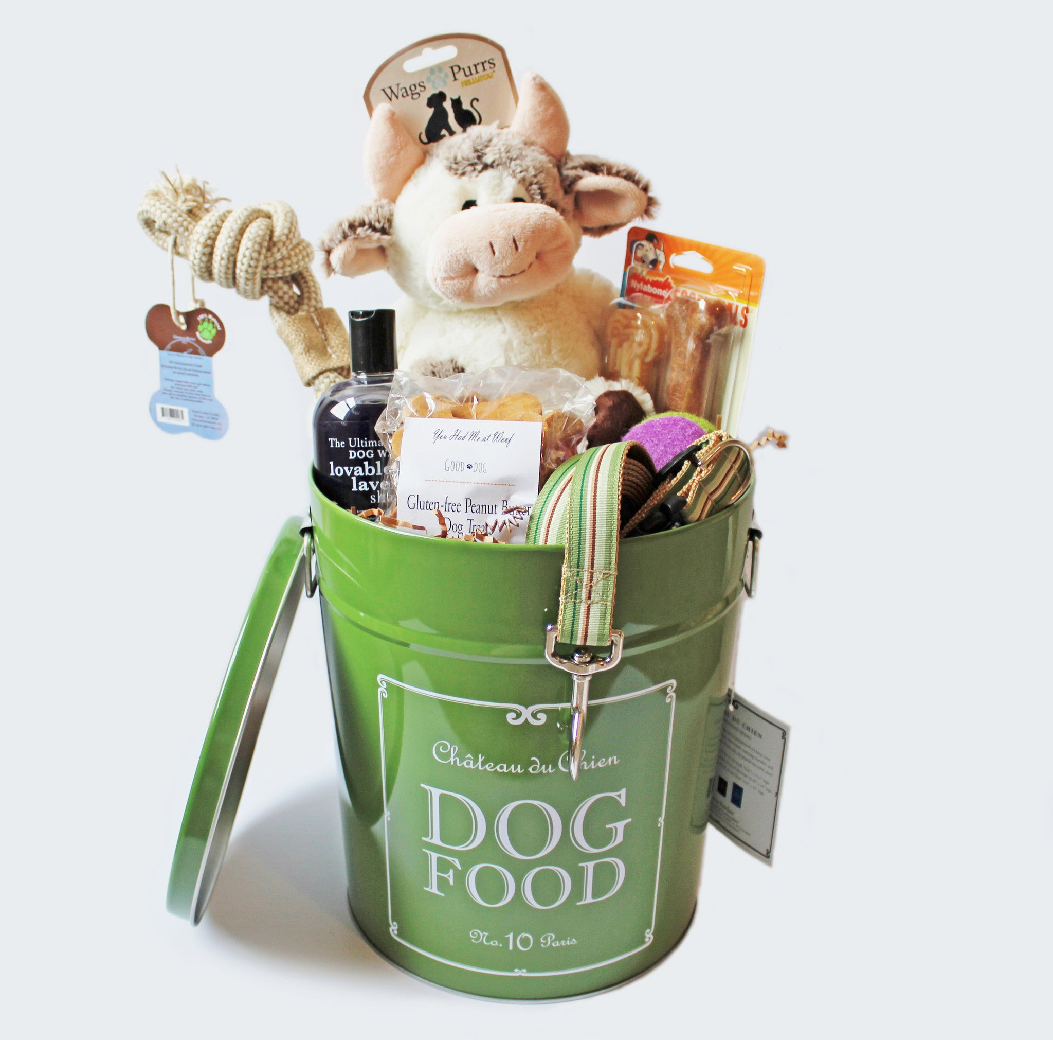 Gift Baskets Tagged New Dog Gift You Had Me At Woof