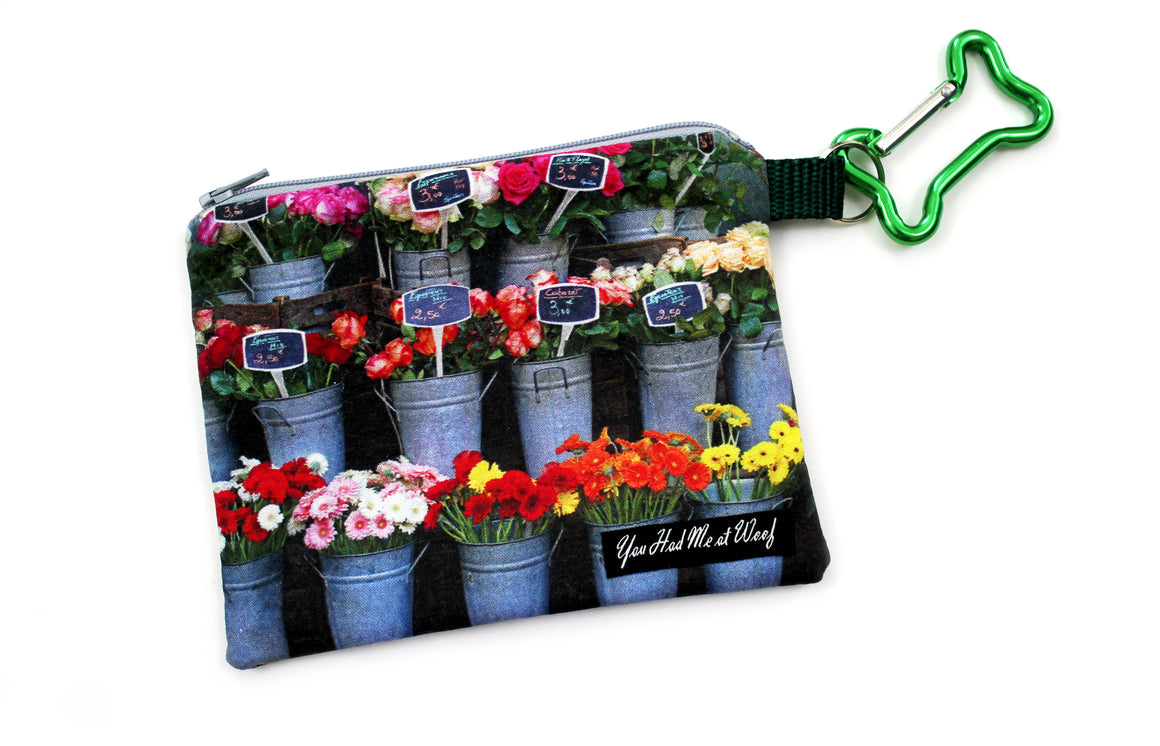 French Flower Shop Treat & Bag Holder