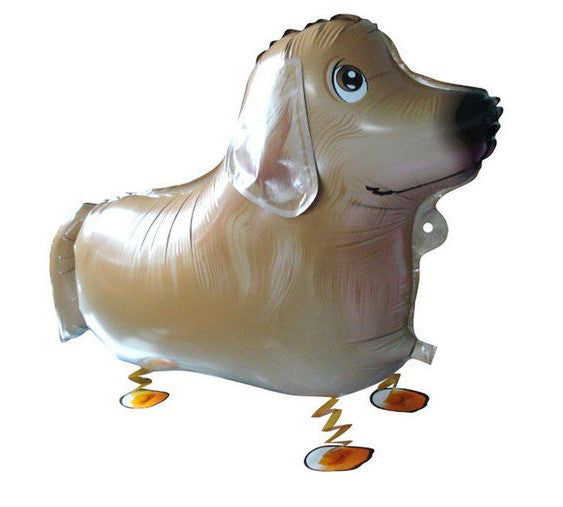 Golden or Laborador Retriever Walking Dog Balloon