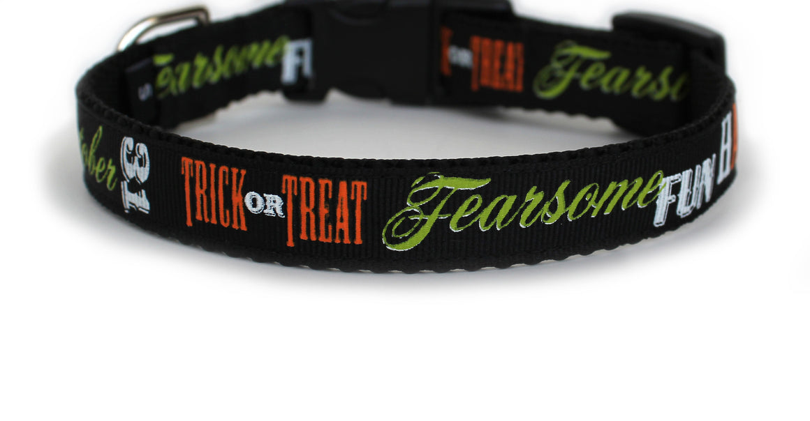 October 31 Dog Collar