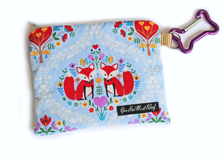 Joyful Blooms Treat & Dog Bag Holder