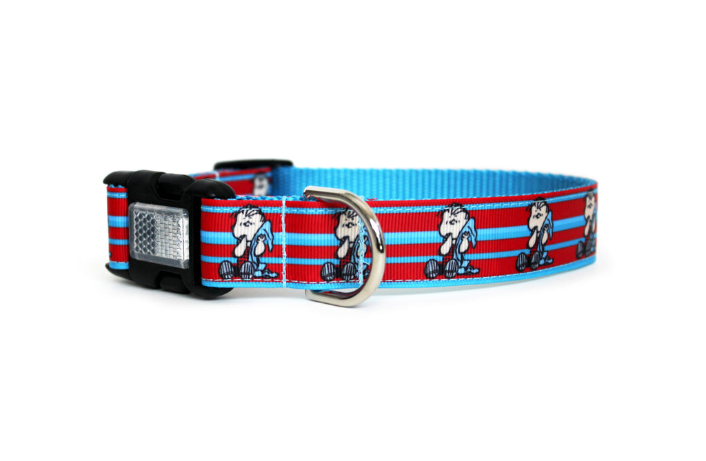 Linus Striped Dog Collar