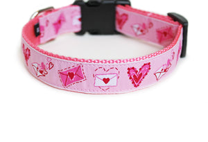 Love Letters Dog Collar