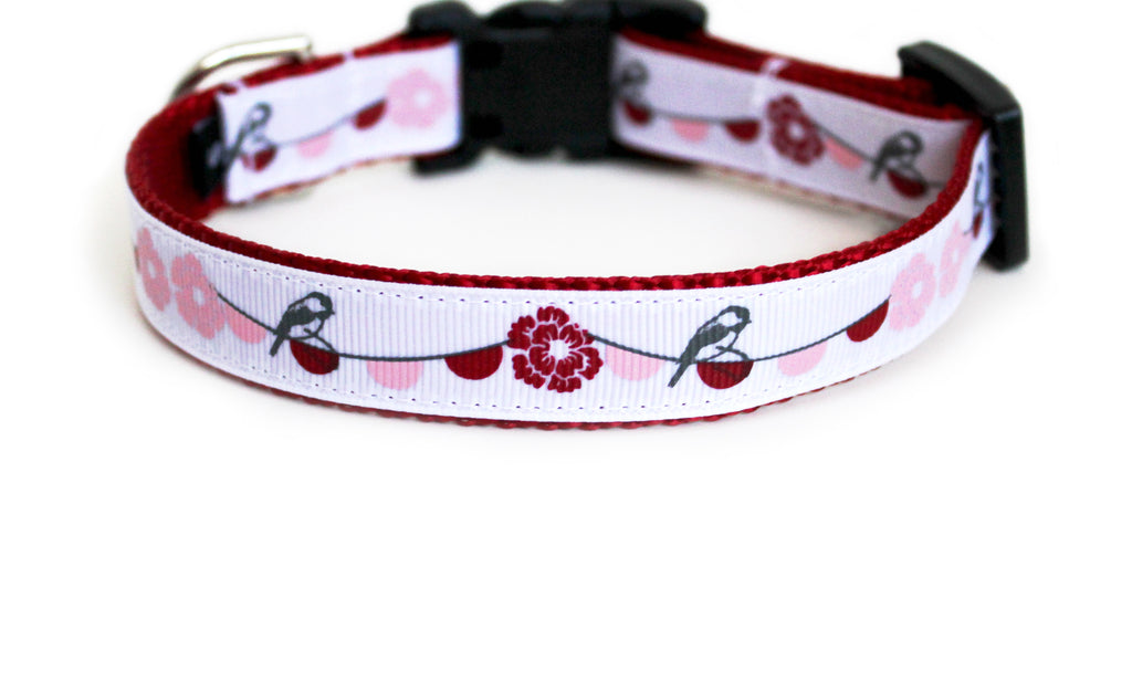Lovebirds Dog Collar