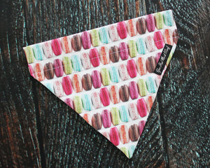 Macaroons Over the Collar Dog Bandana