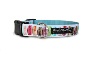 Macarons Dog Collar
