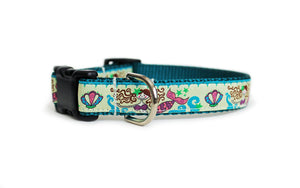 Mermaid Cove Dog Collar