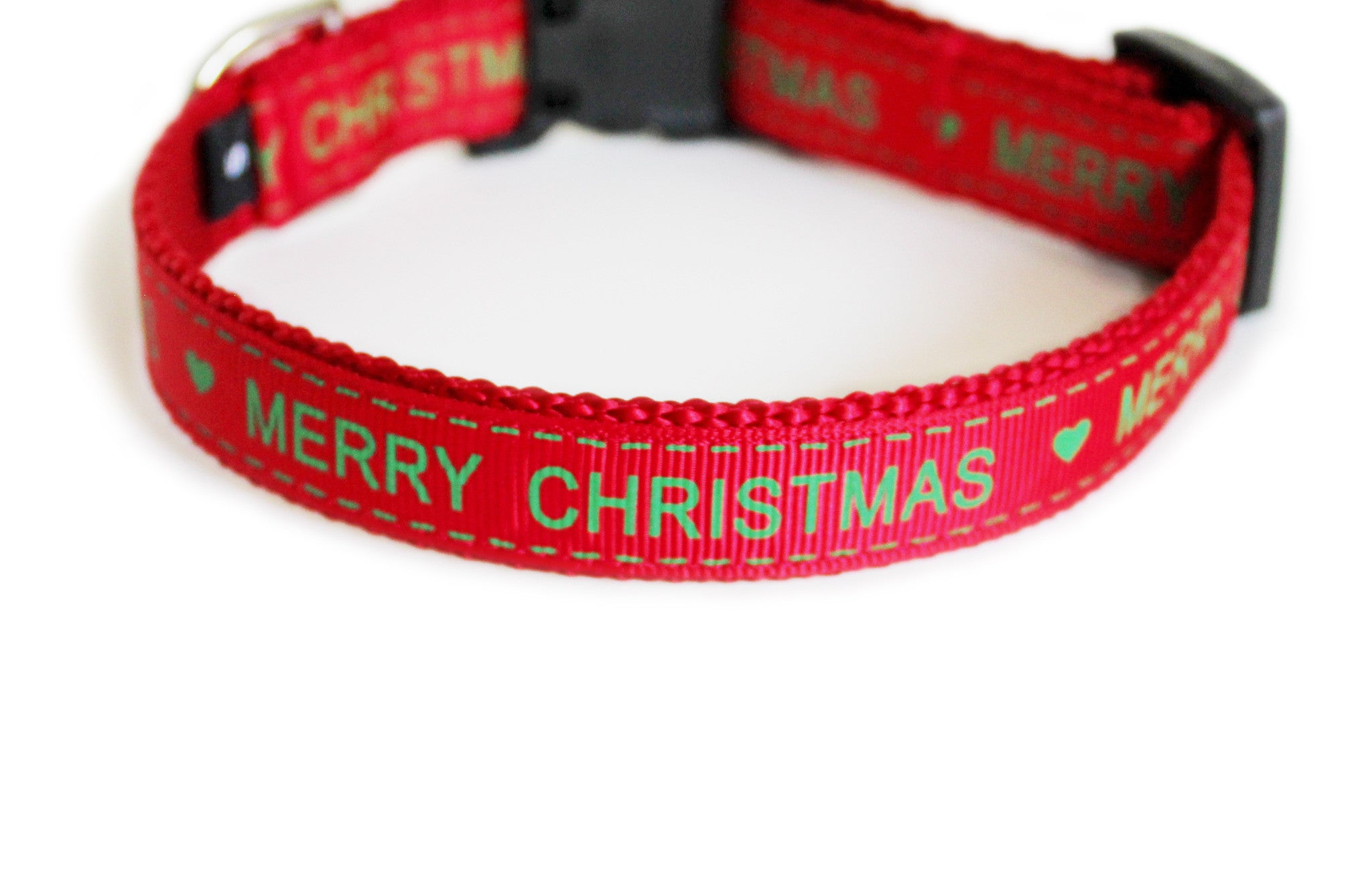 Merry Christmas Dog Collar - You Had Me at Woof