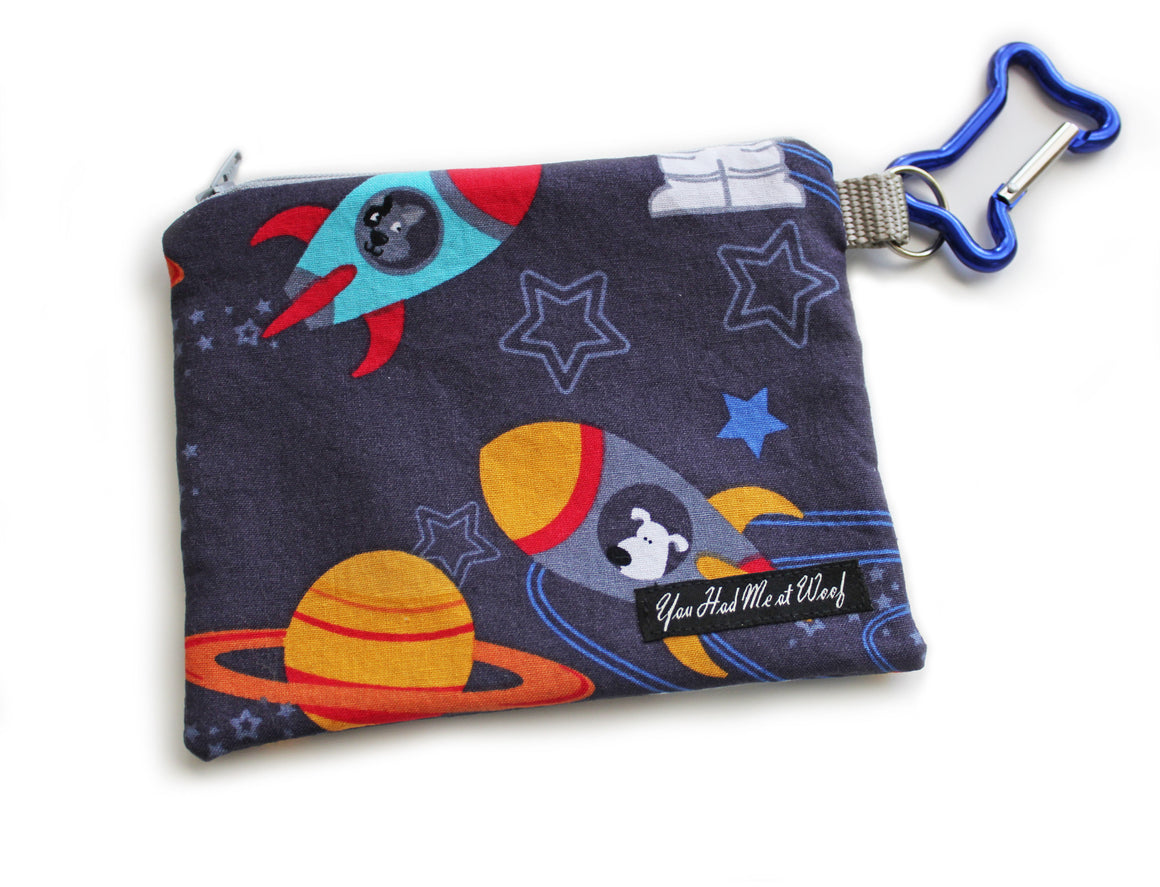 Outer Space Treat Pouch & Bag Holder