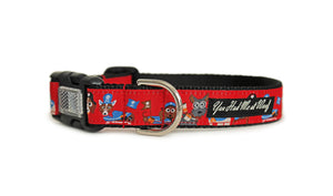 Pirates Ahoy Dog Collar