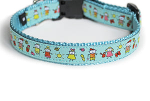 Summertime Fun Dog Collar