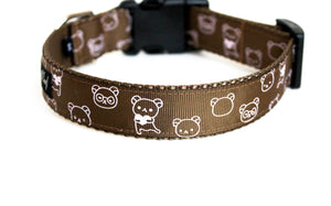 Teddy Bears Dog Collar