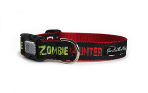 Zombie Hunter Dog Collar