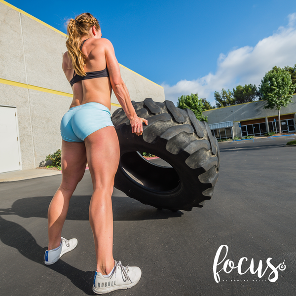 White Focus Short™ by Brooke Wells