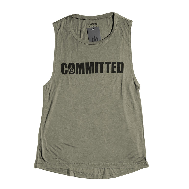 COMMITTED WOMENS MUSCLE TANK