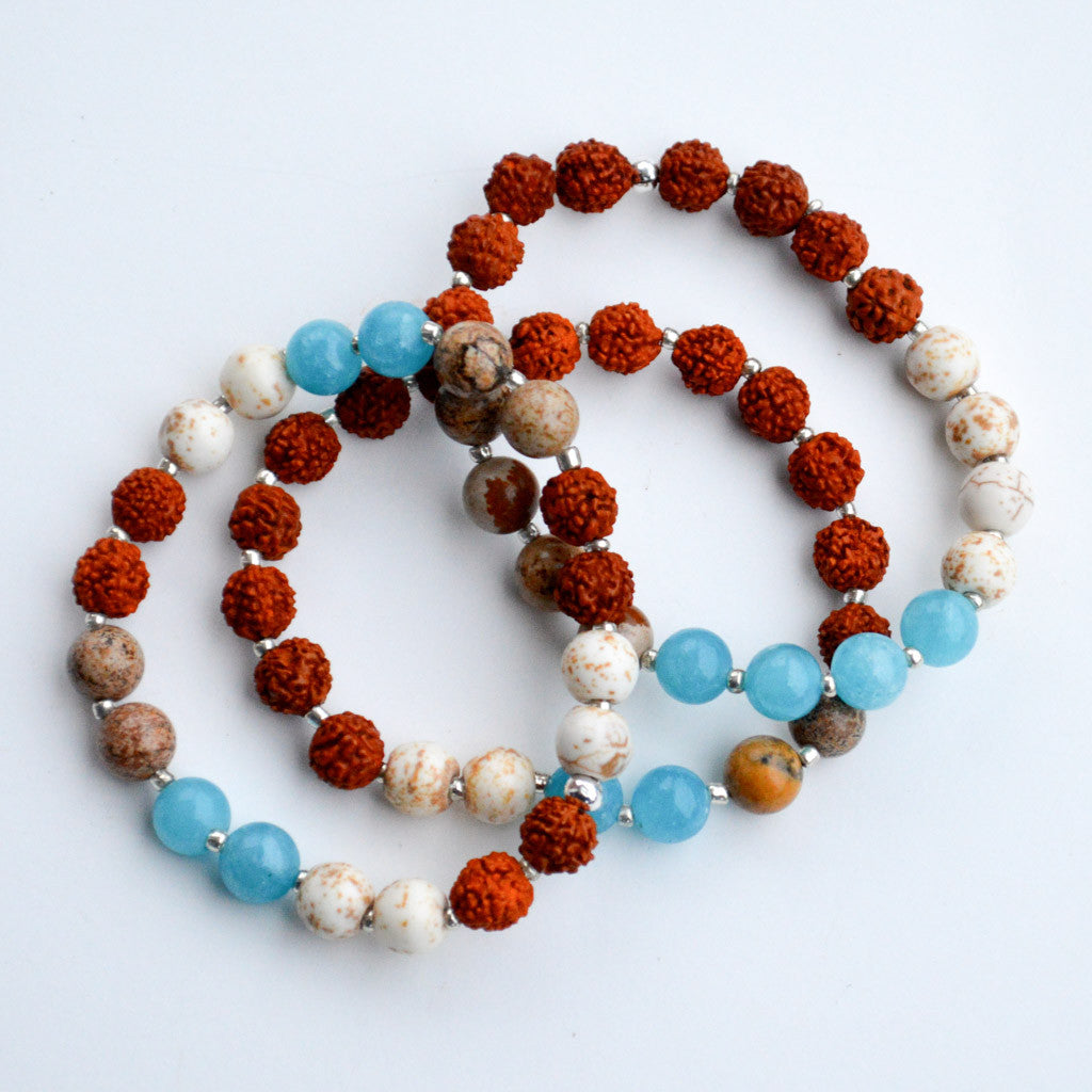 Teal Dharma Bracelet Bundle