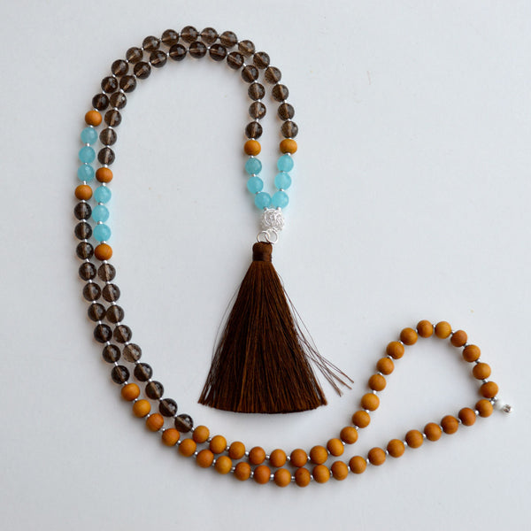 Brown Lotus Mala