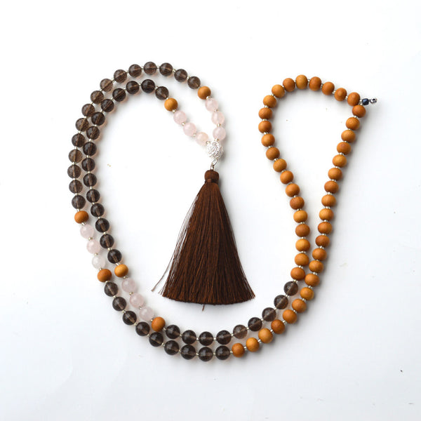 Earth Lotus Mala