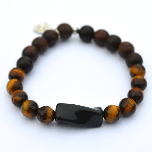 Tiger Eye Ganesha Bracelet