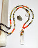 Earth Rainbow Mala