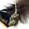 Pyrite Sterling Silver Necklace