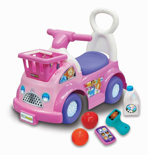 Fisher price Little People 開心購物助步車