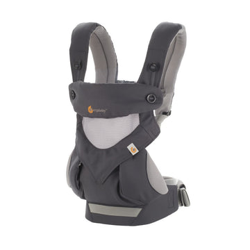 ERGObaby Carrier Four Position 360 - Cool Air Carbon Grey