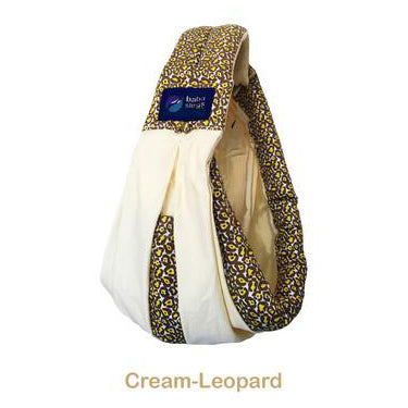Baba Slings Boutique 系列 0-2 歲五合一孭帶(Cream / Leopard)