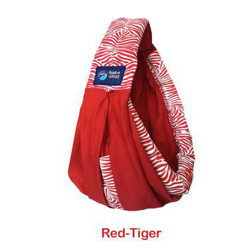 Baba Slings Boutique 系列 0-2 歲五合一孭帶(Red / Tiger)