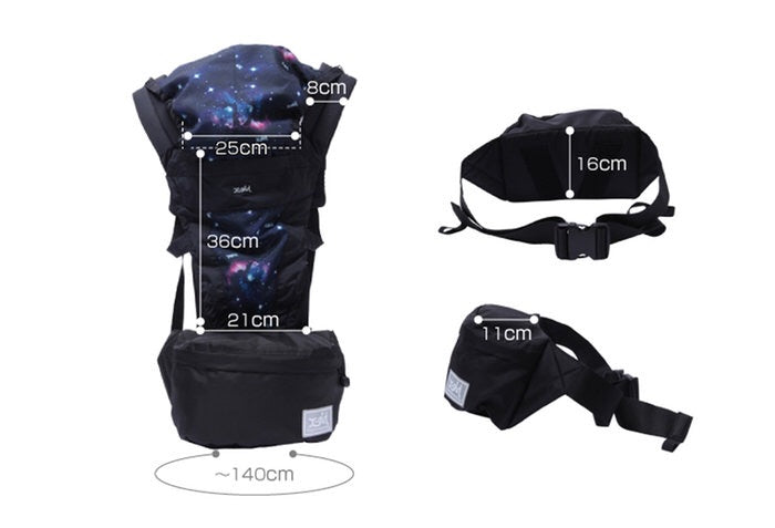 X-girl Stage Baby Carrier 嬰兒咩帶連腰包