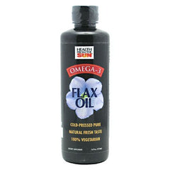 Health From The Sun Omega-3 Flax Oil - 16 oz - 010043062163