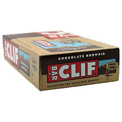 Clif Bar Energy Bar - Chocolate Brownie - 12 Bars - 722252301802