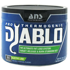 ANS Performance Diablo Pro Thermogenic - Electric Lime - 60 Servings - 700729999677