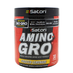iSatori Amino-Gro - Frosted Lemonade - 9.52 oz - 883488004711