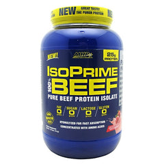 MHP IsoPrime 100% Beef - Strawberry - 28 Servings - 666222093840