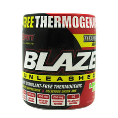 SAN Blaze Unleashed - Lemon Lime - 30 Servings - 672898170020