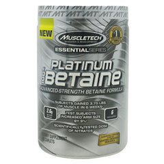 MuscleTech Essential Series Platinum 100% Betaine - 168 Caplets - 631656604474