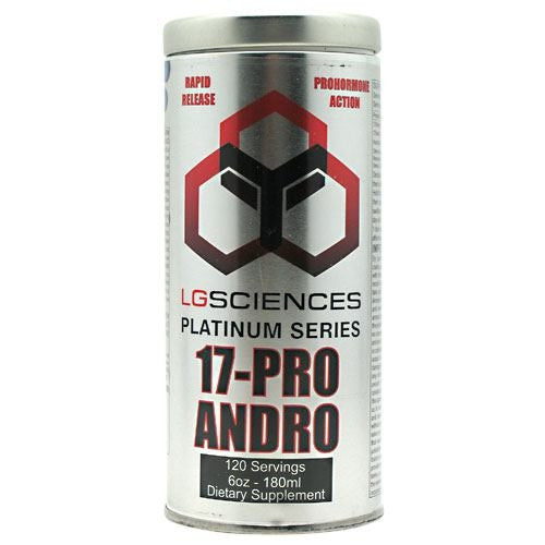LG Sciences Platinum Series 17- Pro Andro - 6 oz - 616641830380
